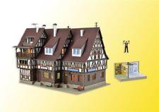 Vollmer HO 43693 Rathaus, Polizeiwache und Gefängnis Bausatz Neuware
