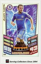 2012-13 Match Attax Man Of Match Foil Card #408 Juan Mata (Chelsea)