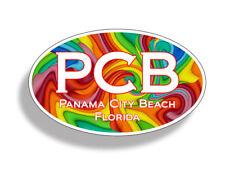 Panama City Beach PCB Retro Sticker Decal Car Truck Cup Laptop Window Bumper FL