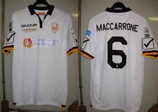 maglia messina calcio givova usata L nr 6 maccarrone anno 2016-17