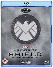 AGENTS OF SHIELD COMPLETE SERIES 3 Blu Ray All Episode Third Season Marvel UK R2