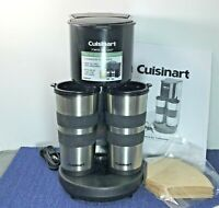 Cuisinart Two to Go Coffee Maker TTG-500 For Ground Coffee Tested Works Perfect