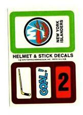 1979-80 Topps Hockey Team Sticker Insert New York Islanders