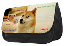Doge Shibe Pencil Case Bag - meme reddit dog animal lover gift idea unique DS