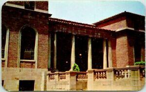 1950s SHREVEPORT Louisiana Postcard SHREVE MEMORIAL LIBRARY Dexter Chrome Sample