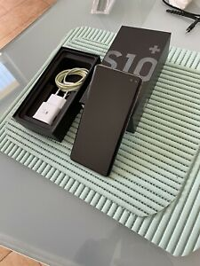 SAMSUNG GALAXY S10+ PLUS 128GB G975F DUOS GARANZIA 12 MESI NERO A+ FOTO REALI