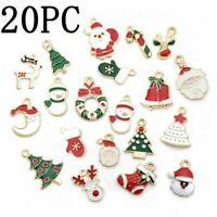Charm Enamel Mixed Christmas Pendant Jewelry DIY Craft Making Accessories Gift