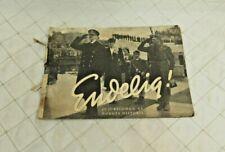 Endelig 30 Jubeldogn Av Norges Historie Book Norway WW2 Liberation Pictures 1945