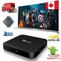 TX3PRO Android 7.1.2 Quad core Amlogic S905W 4K h.265 Smart TV BOX WIFI HDMI 2.0