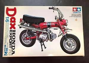TAMIYA 1/6 Dax DAX Honda ST70 motorcycle series NO.2 plastic model kit