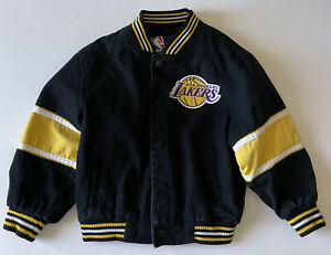 Boys/Girls NBA Los Angeles Lakers Jacket JH Design Size Small 6