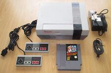 NINTENDO NES CONSOLE SET - 2 Control Pads - Super Mario Bros