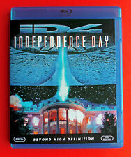 Original Independence Day Blu Ray Sci Fi Movie / Will Smith -Free Ship Like New