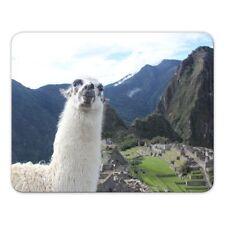 "Mousepad ""Lama"" - 24x19cm - Machu Picchu - Peru -  Inka - Südamerika"