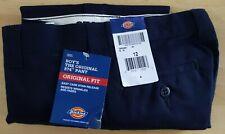 Boys Dickies Pants, Size 12, Navy Blue The Original 874 Nwt