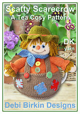 Scarecrow Tea cosy knitting pattern cosies teacosy cozy