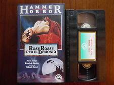 Rose rosse per il demonio (Paul Jones, Patrick Magee) - VHS ed. Skorpion rara