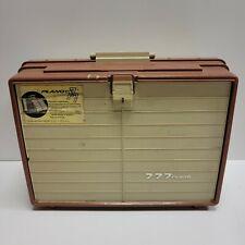 NICE - PLANO Model 777 Fishing Tackle Box w/Removable/Locking 6 Drawer Trays