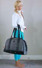 EUC Lululemon Om For All Yoga Gym Bag Gray Denim Black
