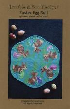 Easter Egg Roll Rabbit Table Mat Centerpiece Trouble & Boo Design Quilt Pattern