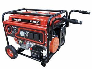 KULLER 18HP 8000w Max/7500w Rated Single-Phase Petrol Backup Generator