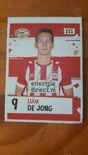 Luuk De Jong PSV signed Sticker Panini like AH 2018 /2019.