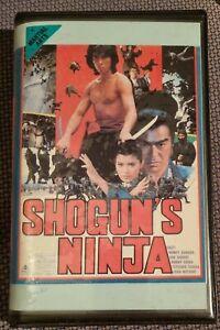 SHOGUN'S NINJA 80s Action Adventure MEDIA Video VHS Sonny Chiba Norifumi Suzuki