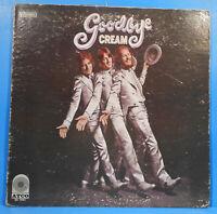 GOODBYE CREAM VINYL  LP 1968 ORIGINAL PRESS  NICE CONDITION! VG/VG!!B
