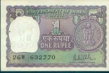 #272 India UNC ▬ One Rupee Note ▬ 1980 R.N. Malhotra ▬ Re 1 Currency