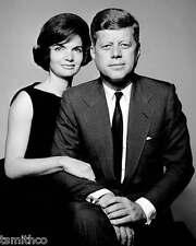John F. Kennedy JFK and Jackie President 8x10 Photo 020