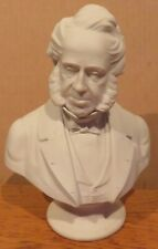 Victorian Parian ware bust of Prime minister Lord Palmerston