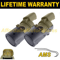2X FOR FORD MONDEO FOCUS PDC PARKING REVERSE DISTANCE SENSOR 3 PIN V 2PS0201S