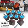 80 Grit Sanding Flap Wheel Disc 15 - 80mm Abrasive Grinding 6mm Shank For Drill