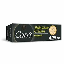 Carrs Table Water Original Crackers - 4.25 oz (Pack of 6)