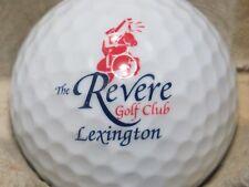 THE REVERE GOLF CLUB LEXINGTON  GOLF COURSE LOGO GOLF BALL