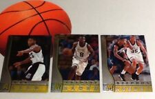 Bowman's Best Rookie Lot Basketball Cards - Ray Allen, Walker, Marbury rc's