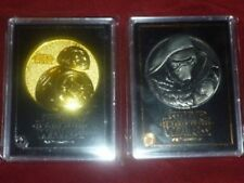 F/S Star Wars The Force Awakens JP Movie Theater Exclusive BB-8 & Kylo Ren Medal