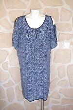 Robe bleue neuve taille 36 marque Gérard Darel en soie étiquetée à 180€ (v)