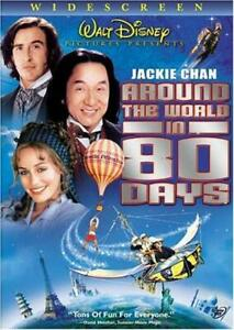 Like New WS DVD Around the World in 80 Days 2004 Jackie Chan Walt Disney Steve