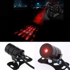 Skull Laser Safety Anti-Collision Rear Motorcycle Tail Fog Light Warning Lamp
