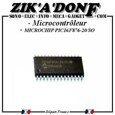 Microchip Pic16f876-20/so Microcontrôleur 8 Bits Flash 20 MHz