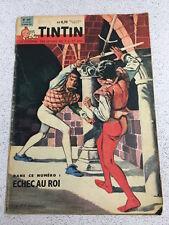 TINTIN  N°647 13e ANNEE 16 MARS 1961 REVUE MAGAZINE VINTAGE