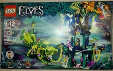 41194 New Boxed LEGO Elves Noctura's Tower /& the Earth Fox Rescue Ref