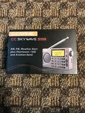 C. Crane CC Skywave SSB AM, FM, Shortwave, NOAA Weather + Alert, Scannable VHF A