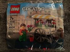 LEGO Creator Flower Cart Polybag (40140) - New & Factory Sealed!!