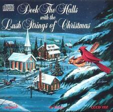 DECK THE HALLS with the LUSH STRINGS OF CHRISTMAS: VERY RARE/OOP 1978 HOLIDAY CD