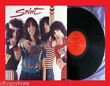 SAINT Self Titled 1984 Sound Image Promo Only Vinyl LP 80s AOR Rock Mark Stimac