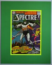 SHOWCASE 60 Pin up Poster Matted Frame Ready DC SPECTRE