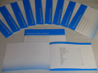 Generic Service History Book Suitable For BMW Series 1, 3, 4, 5, 6, 7,  X1, 3, 5