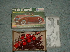 Lindberg 1/32 '40 Ford Convertible- old kit